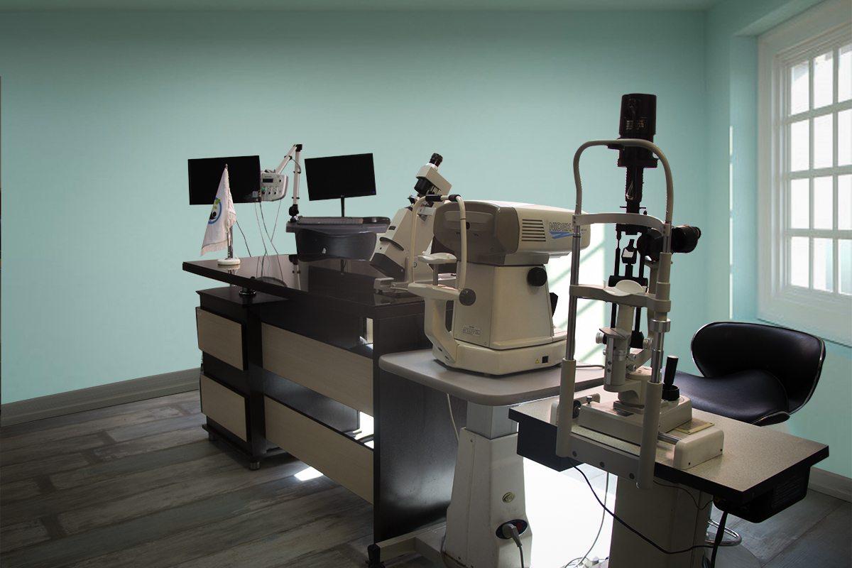 واحد چشم پزشکی کلینیک کوروش