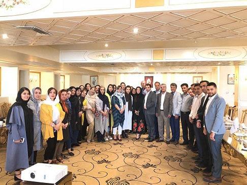 گردهمایی پزشکان و کارکنان مرکز تخصصی سلامت و دیابت کوروش